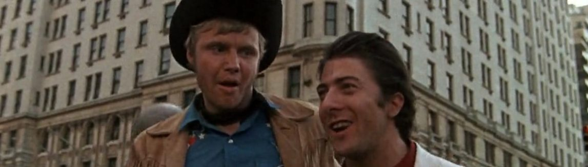 Jon Voight y Dustin Hoffman en Midnight Cowboy (John Schlesinger, 1969)