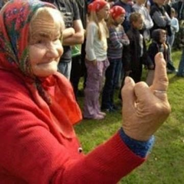 old-woman-middle-finger
